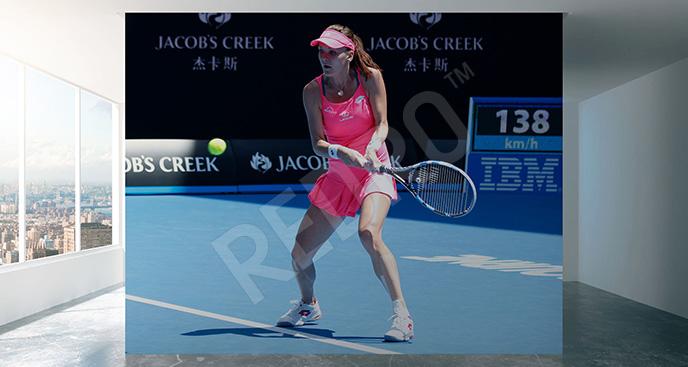 Fototapeta tenis do hali sportowej