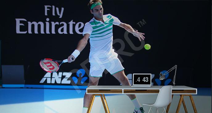 Fototapeta tenis Roger Federer