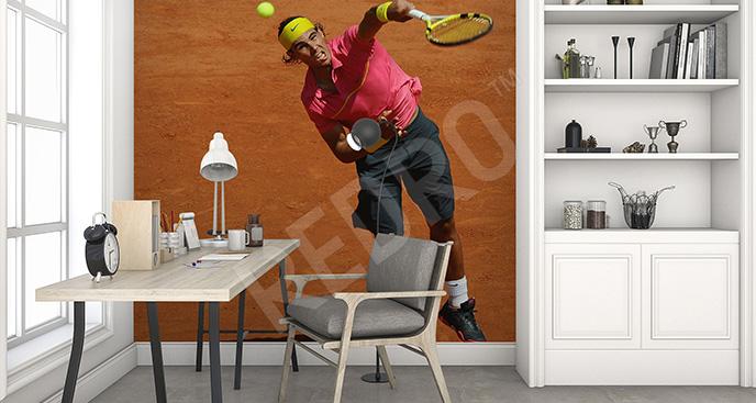 Fototapeta tenisista dla nastolatka