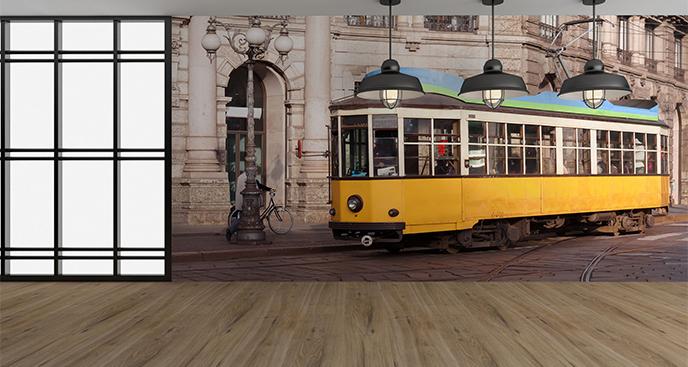 Fototapeta tramwaj vintage