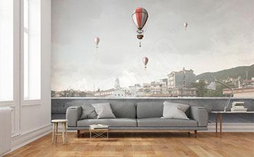 Fototapeta transport balonem