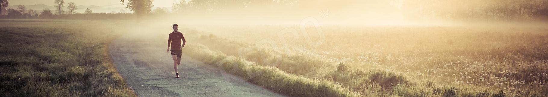 Fototapeta trening biegowy
