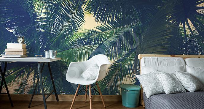 Fototapeta tropikalna do sypialni