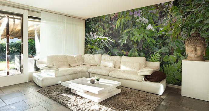 Fototapeta tropikalne rośliny