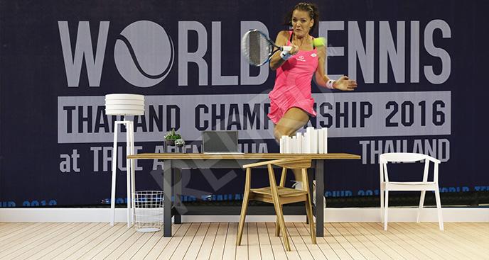 Fototapeta turniej tenisowy