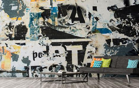 Fototapeta typografia street art