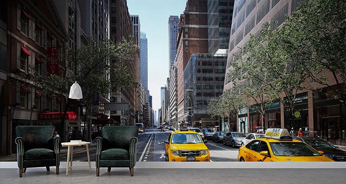 Fototapeta ulica Nowego Jorku