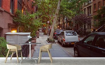 Fototapeta uliczka Nowego Jorku