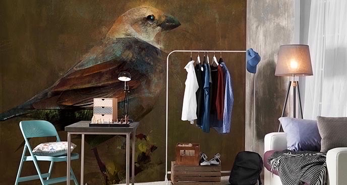 Fototapeta ptaki: malarstwo