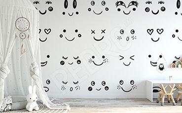 Fototapeta uśmiechnięte twarze