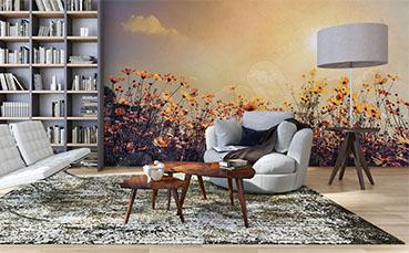 Fototapeta w stylu klasycznym kwiaty