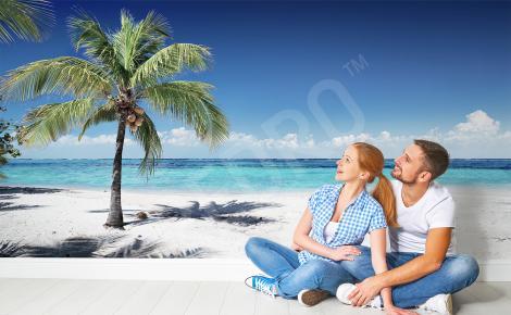 Fototapeta wakacyjna plaża