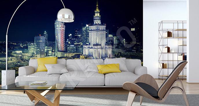 Fototapeta Warszawa 3D