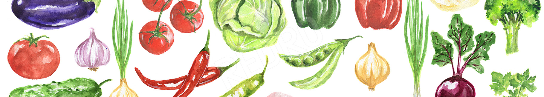 Fototapeta warzywa do kuchni