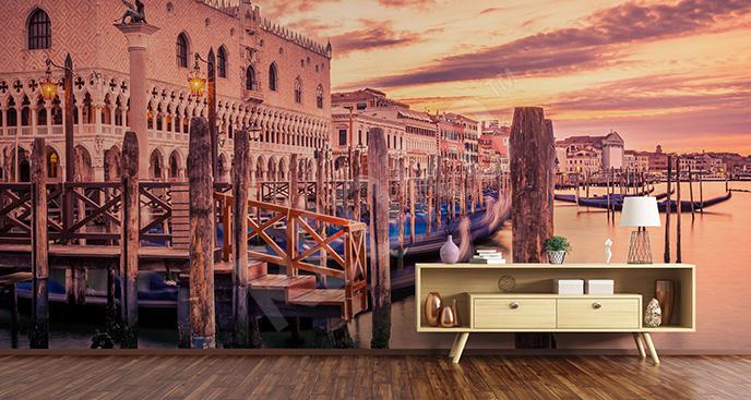 Fototapeta Wenecja o świcie