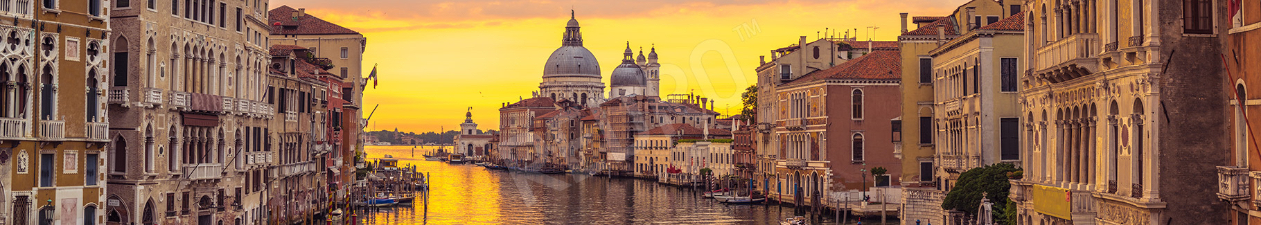 Fototapeta Wenecja o zachodzie słońca