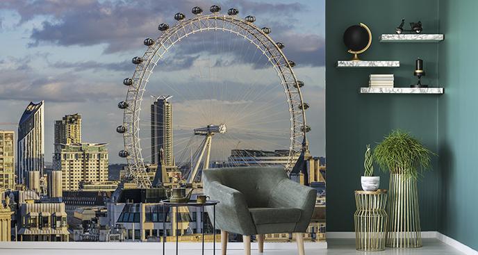 Fototapeta widok na London Eye