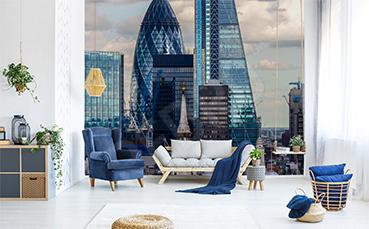 Fototapeta wieżowce w Londynie