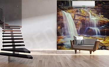 Fototapeta wodospad do salonu