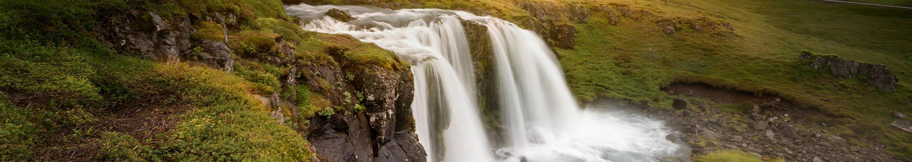 Fototapeta wodospad na Islandii
