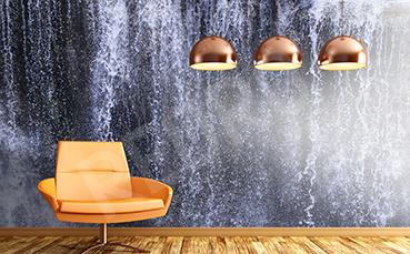 Fototapeta wodospad strugi wody