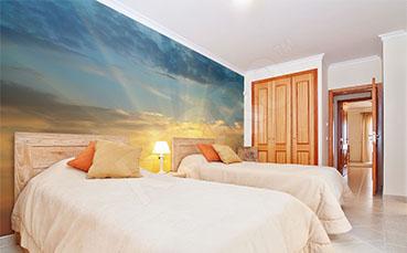 Fototapeta wschód słońca do sypialni