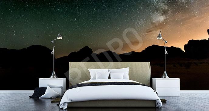 Fototapeta z galaktyką do sypialni