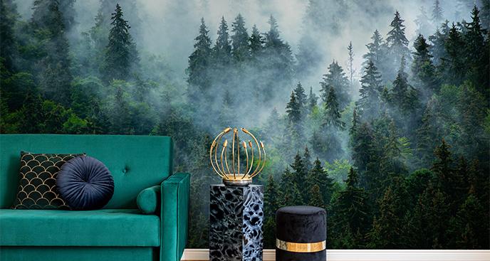 Fototapeta z mglistym widokiem
