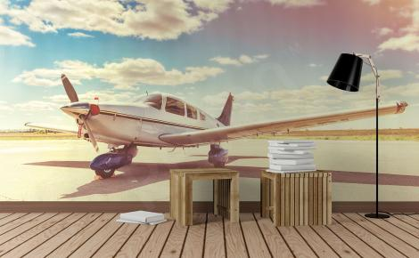 Fototapeta z samolotem 3D