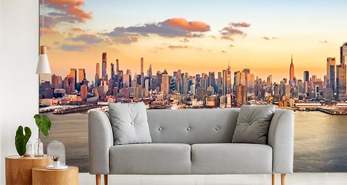 Fototapeta z widokiem na Manhattan