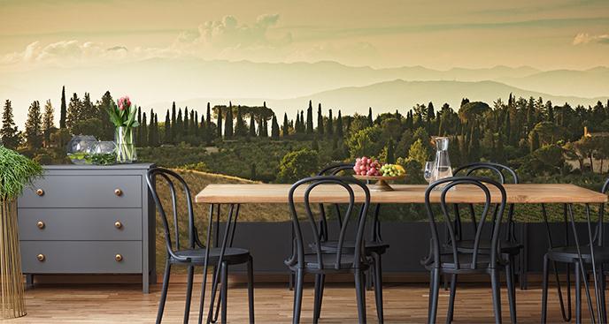 Fototapeta z włoskim krajobrazem