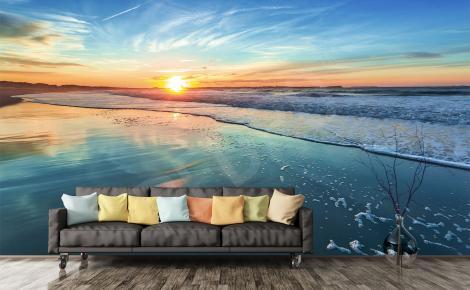 Fototapeta zachód słońca do salonu