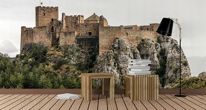 Fototapeta zamek w ruinie