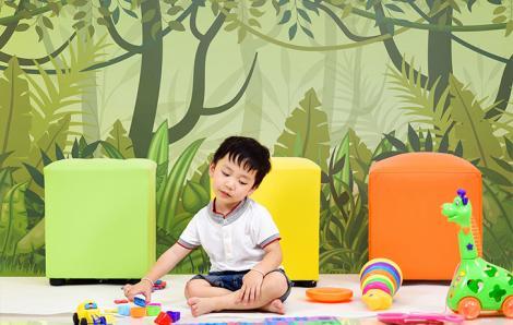 Fototapeta zielona dżungla dla dzieci