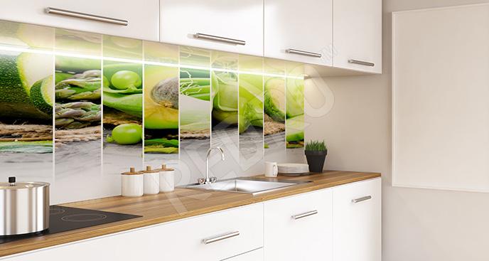 Fototapeta zielone warzywa