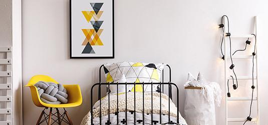 Jak urządzić żółto-szary pokój dla chłopca? Wskazówki ekspertów Redro