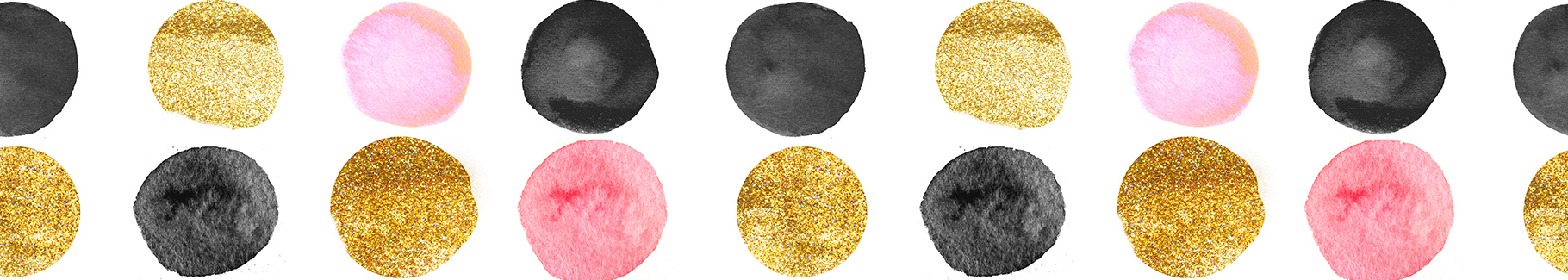 Kolorowa fototapeta kropki