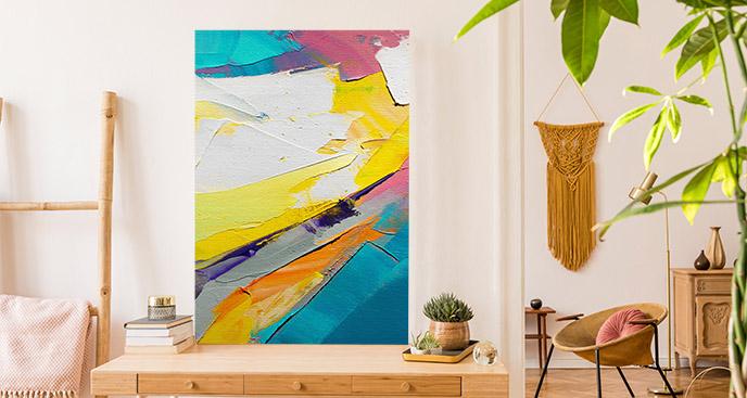 Kolorowy obraz abstrakcja