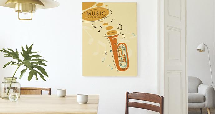 Kolorowy obraz instrument