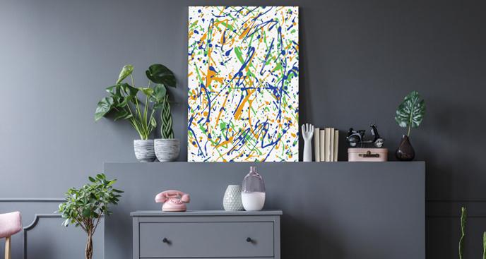 Kolorowy obraz w nowoczesnym stylu