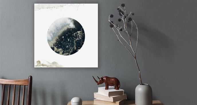 Kosmiczny obraz akwarela