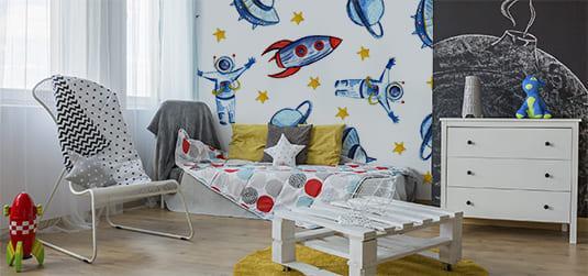 Radzimy, jak urządzić kosmiczny pokój dla chłopca – sprawdź!