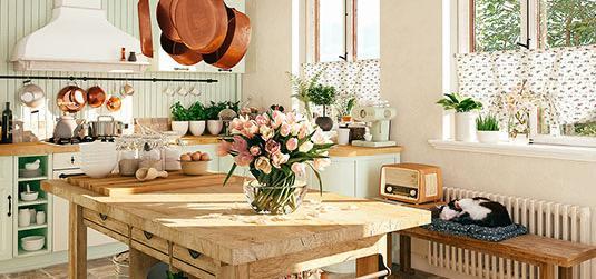 Kuchnia w stylu retro – wiemy, jak urządzić ją ze smakiem!