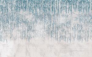 Liście na betonowej teksturze