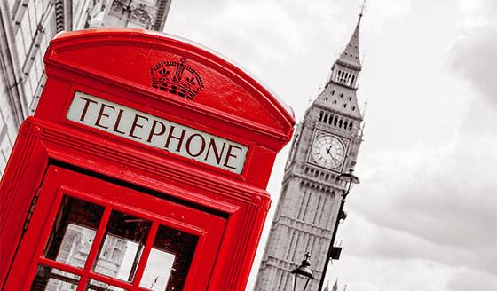 Londyńskie budki
