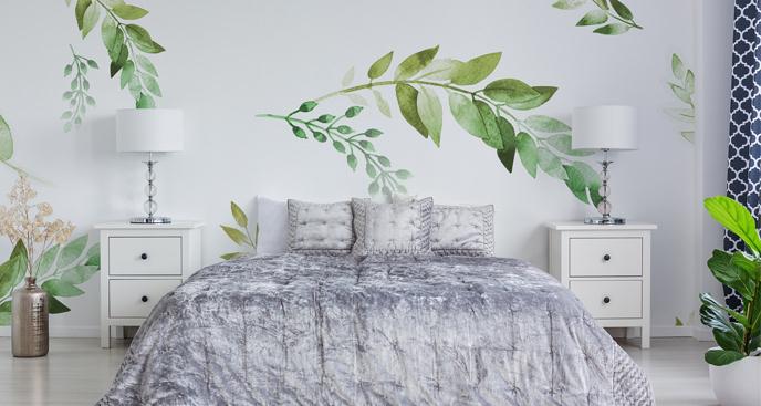Fototapeta liście palm
