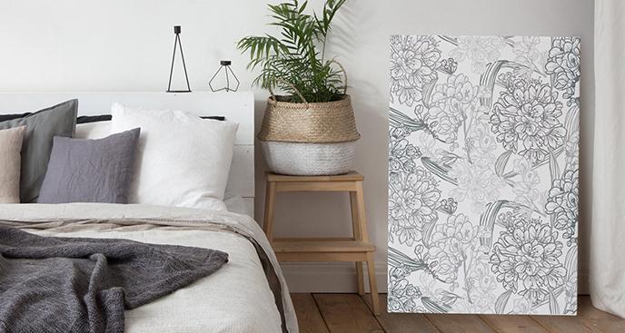 Minimalistyczny obraz do sypialni