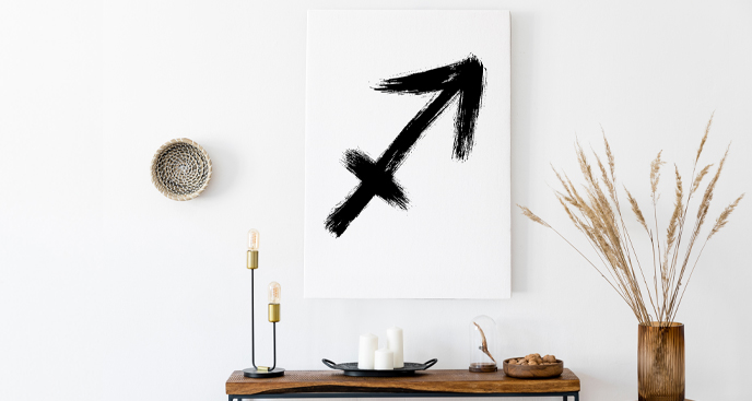 Obraz ze znakami zodiaku