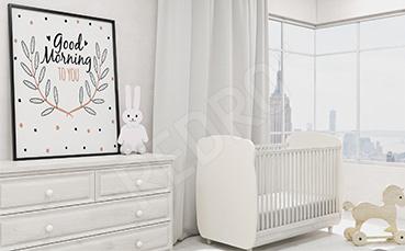 Minimalistyczny plakat do pokoju dziecka