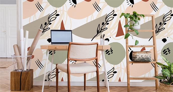 Modernistyczna tapeta do biura